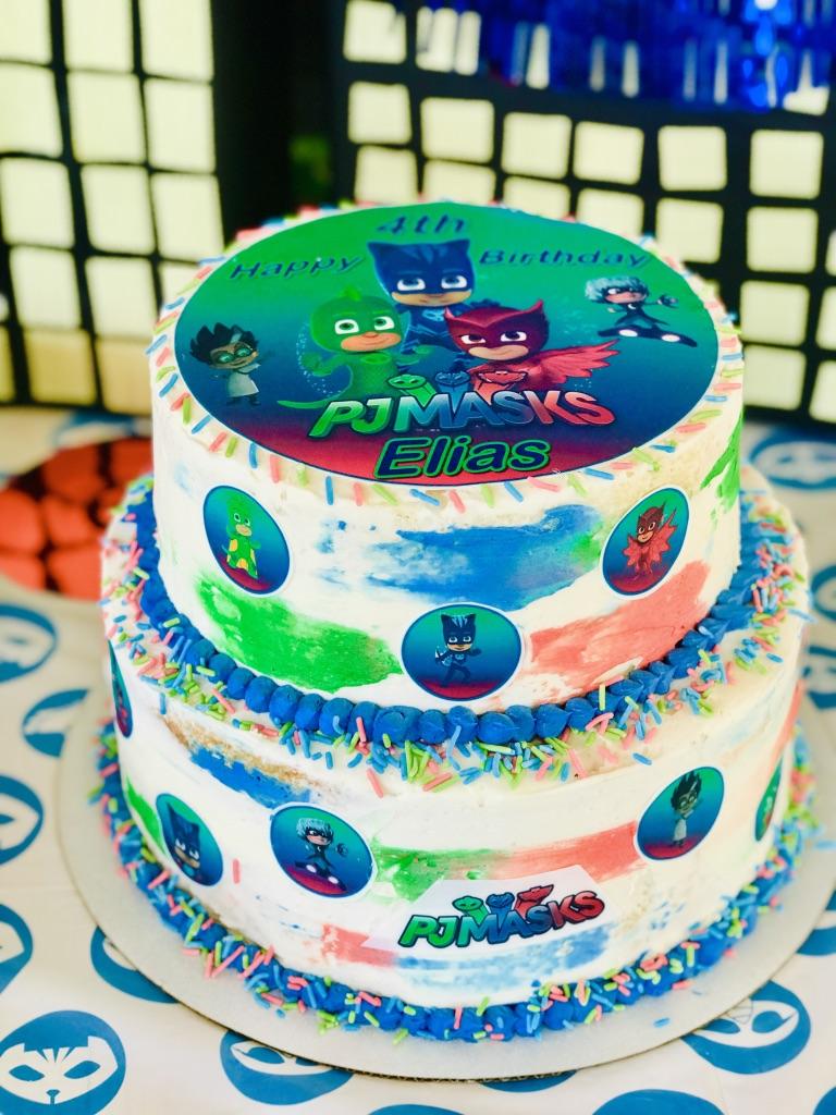 PJ Mask DIY Cake