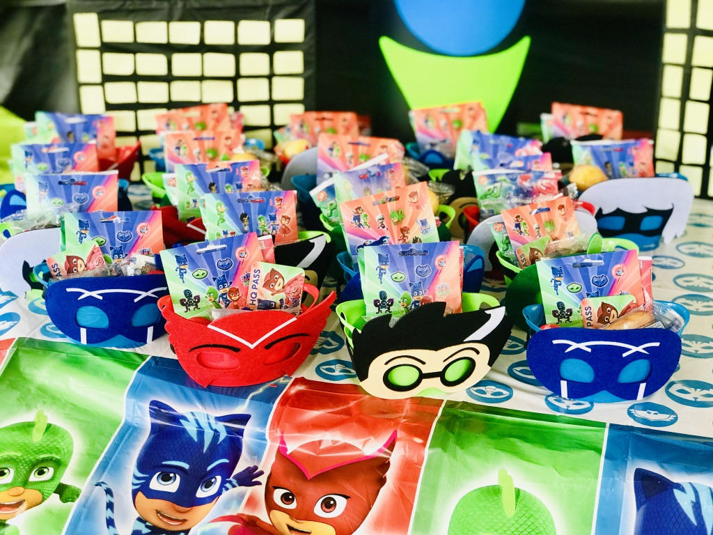 PJ Mask Party Favors/Treat Bags